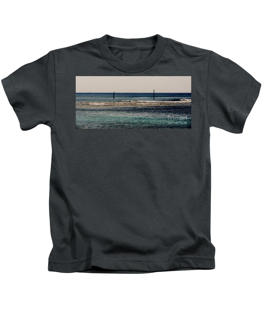 Color Kids T-Shirt featuring the photograph Daymarks by Amar Sheow