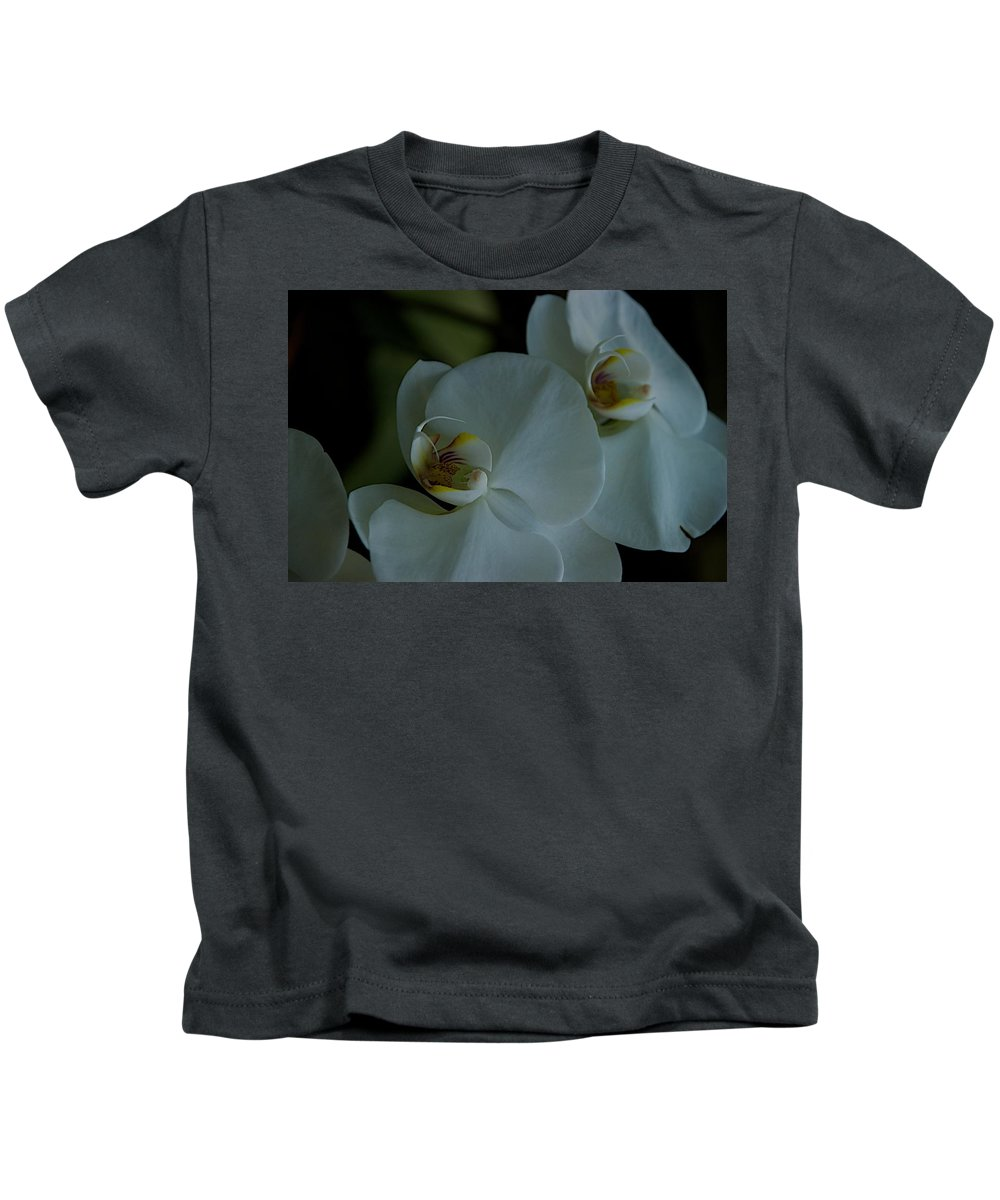 Flowers Kids T-Shirt featuring the photograph Delicate Bowl by Joseph Yarbrough