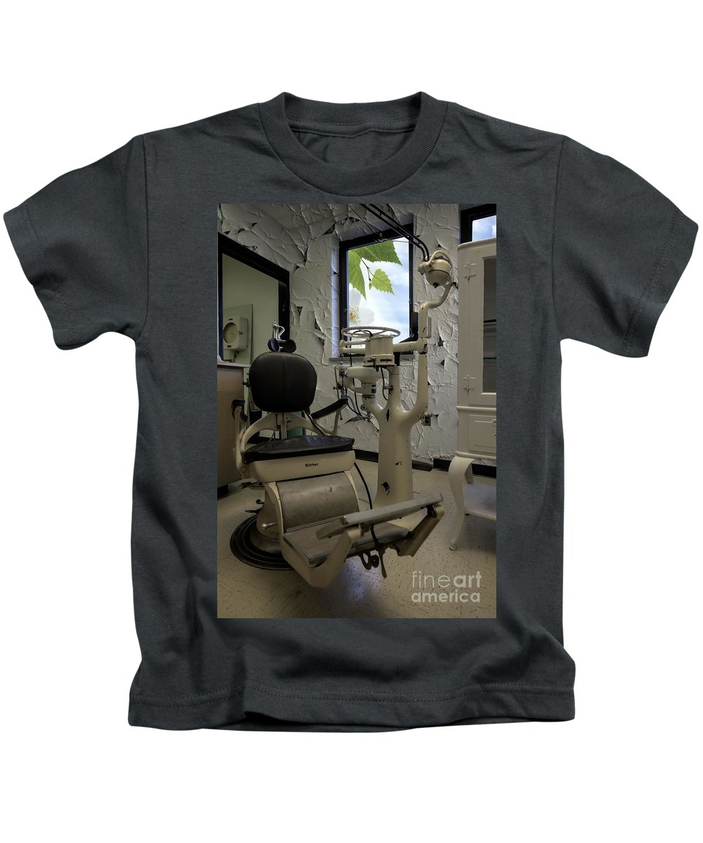 Dentist - Dental Office Kids T-Shirt featuring the photograph Dentist - Dental Office by Liane Wright