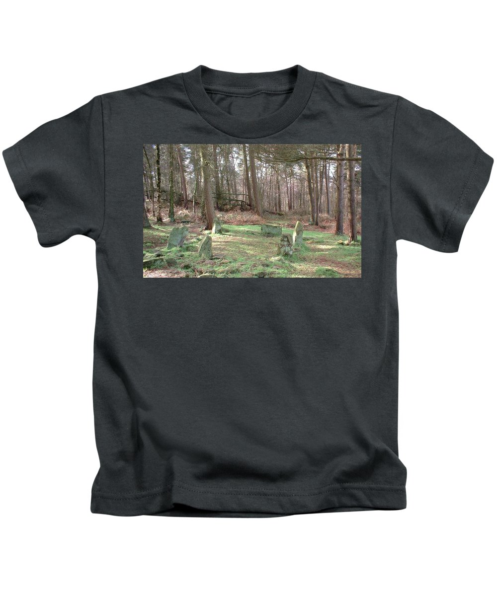 Stone Kids T-Shirt featuring the photograph Doll's Tor by Asa Jones