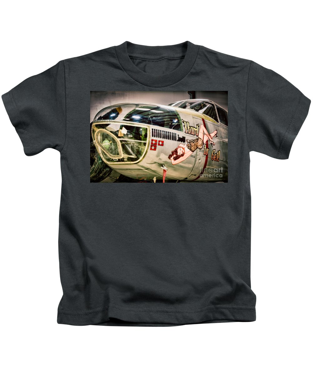 Air Force Kids T-Shirt featuring the photograph Douglas A-26c Invader by Inge Johnsson