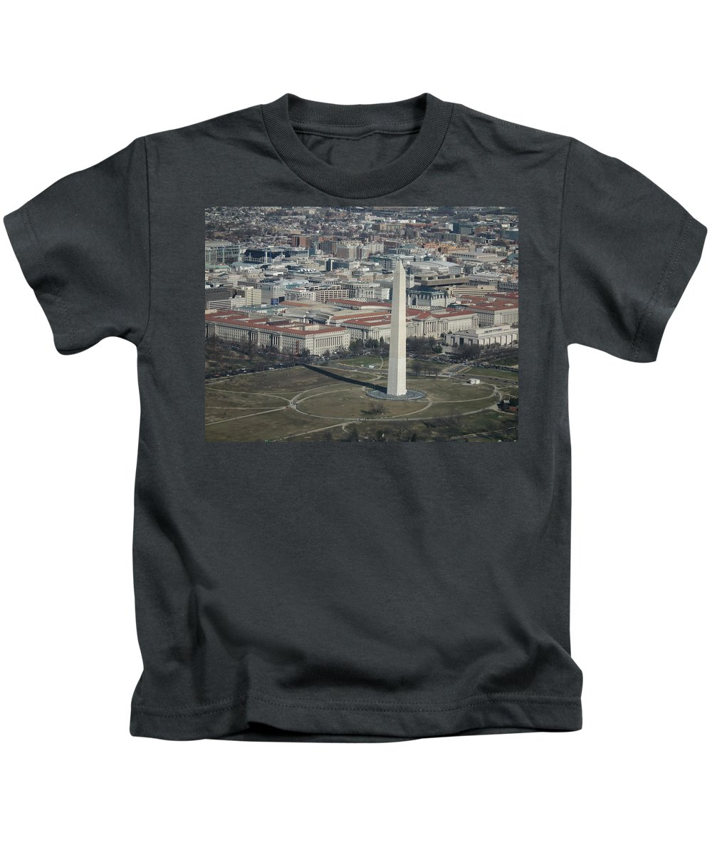 Washington Dc Kids T-Shirt featuring the photograph Downtown Washington Dc by Christopher Westbrook