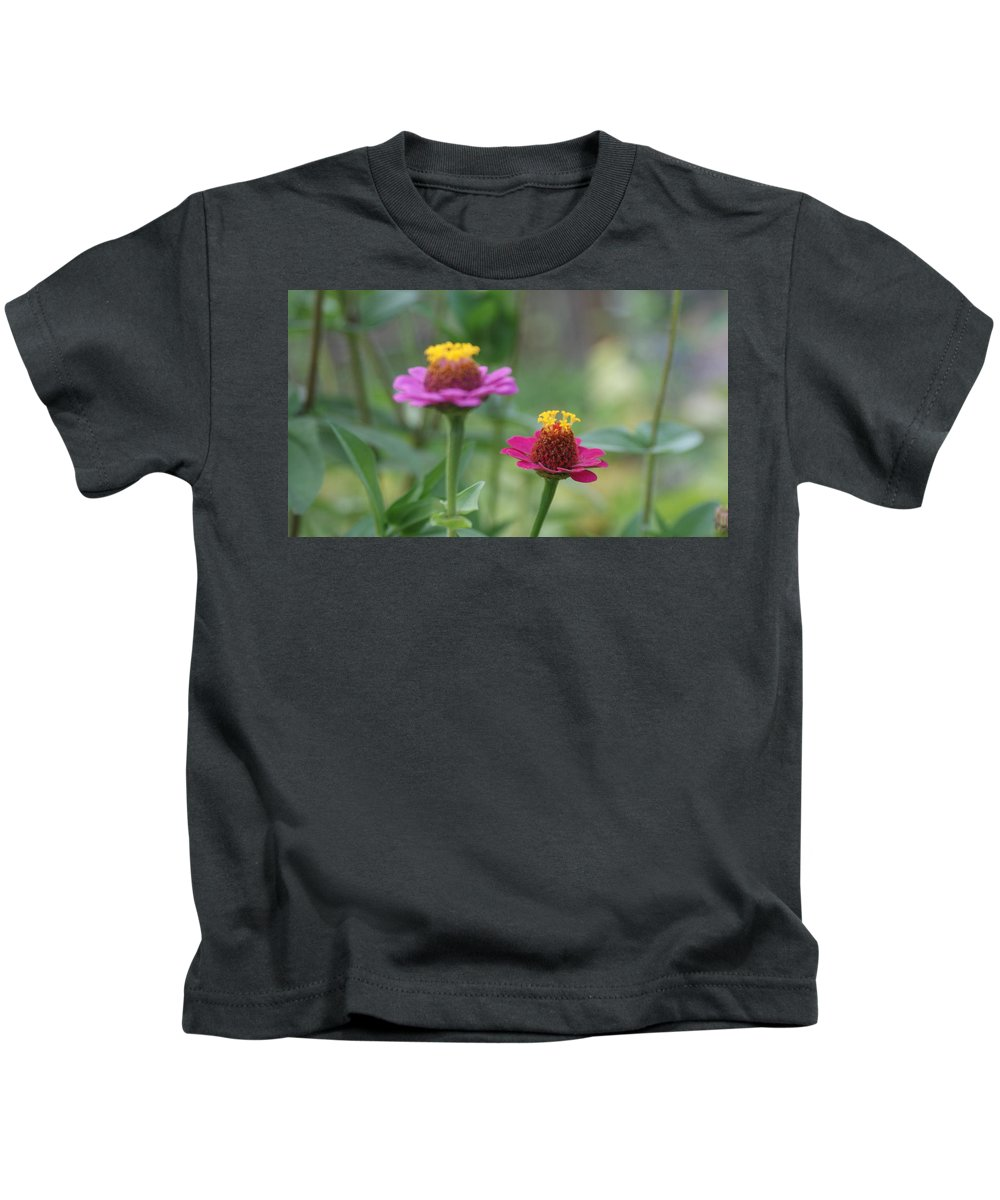 Yellow Kids T-Shirt featuring the photograph Dr Seuss Flowers by Rob Luzier