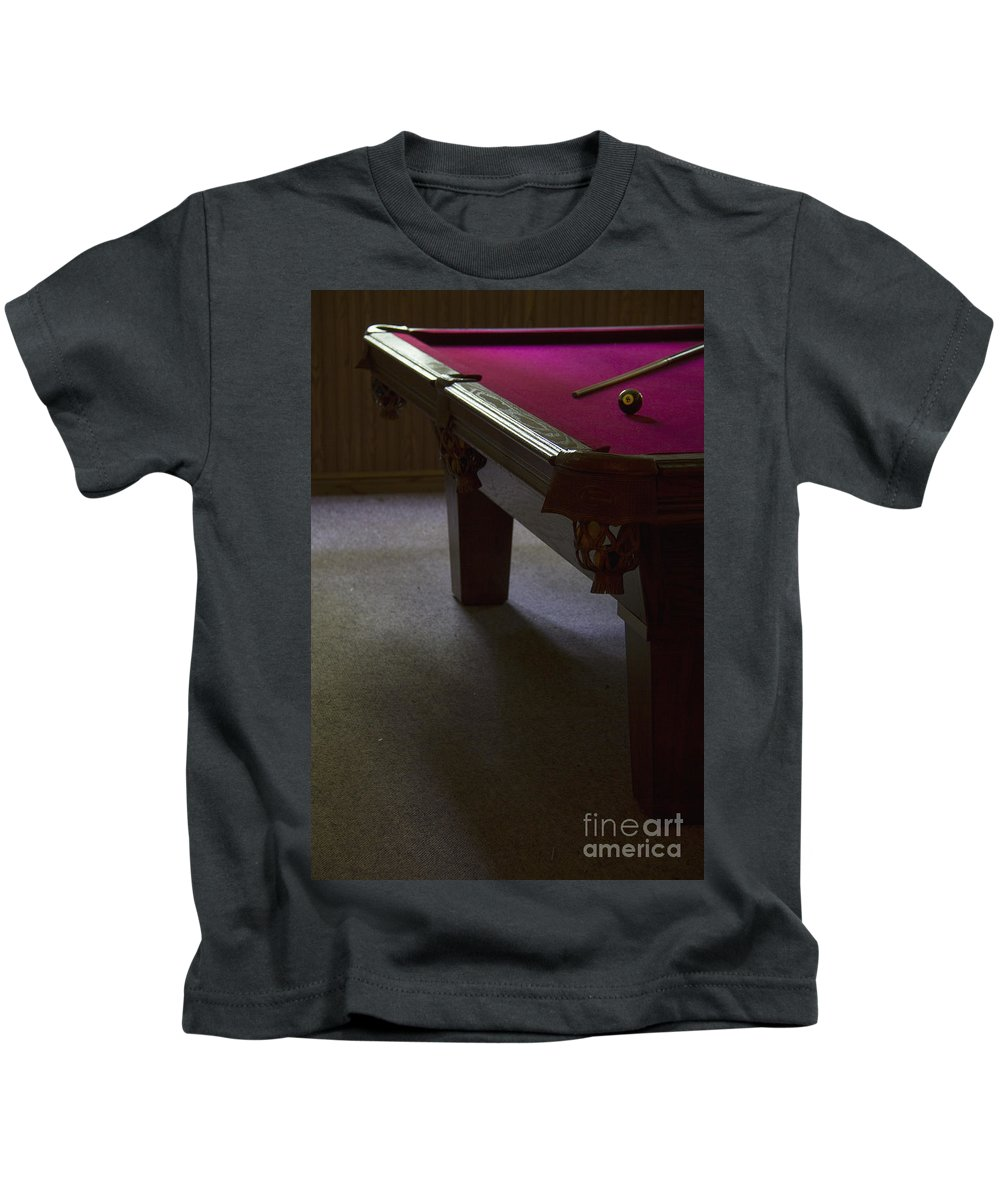 Pool Kids T-Shirt featuring the photograph Eight Ball by Margie Hurwich