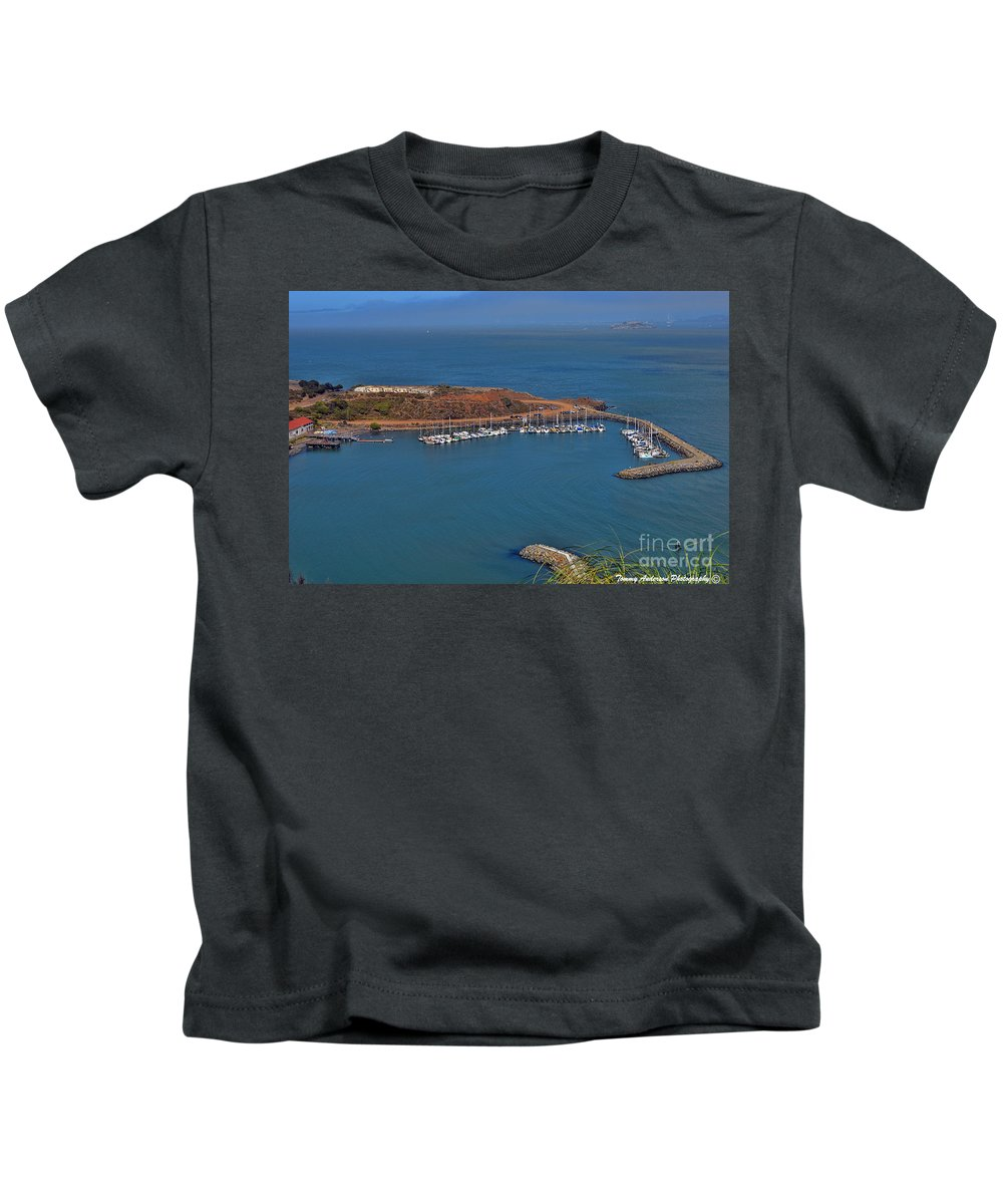 Escobedo Bay Kids T-Shirt featuring the photograph Escobedo Bay by Tommy Anderson