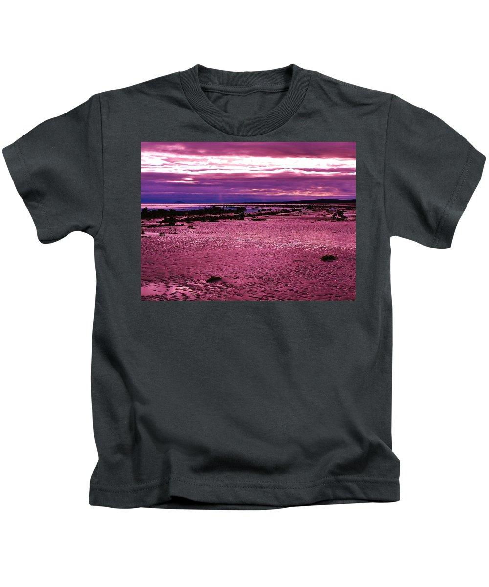 Eternal Tides Kids T-Shirt featuring the photograph Eternal Tides by Barbara St Jean