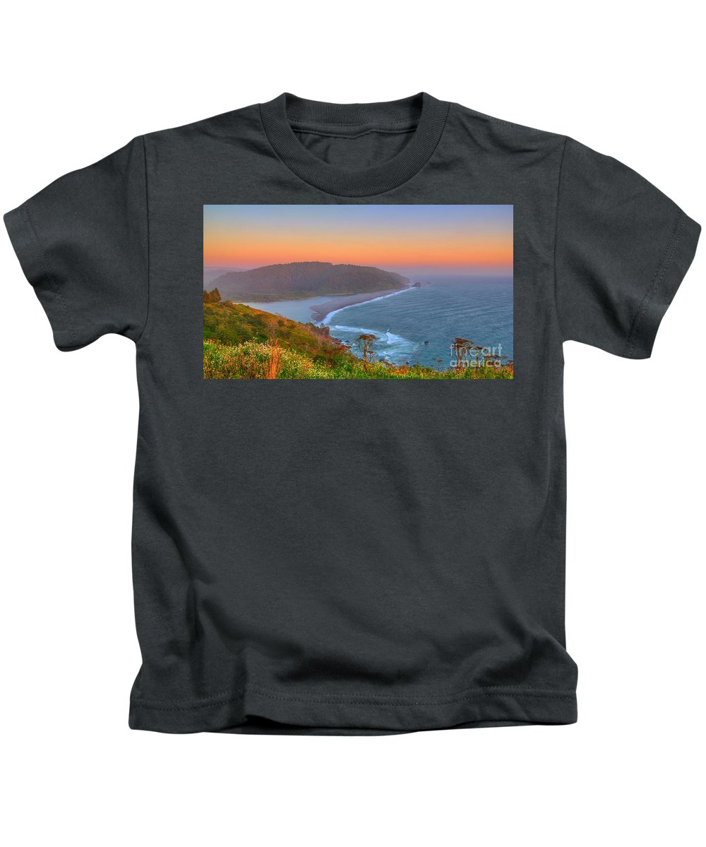 Klamath Kids T-Shirt featuring the photograph Ethereal Sunset by James Anderson