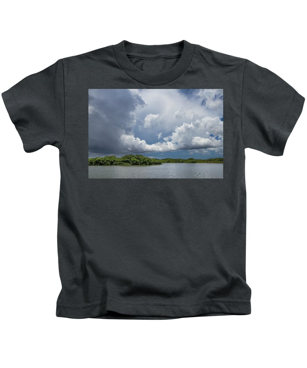 Everglades Kids T-Shirt featuring the photograph Everglades 0257 by Rudy Umans