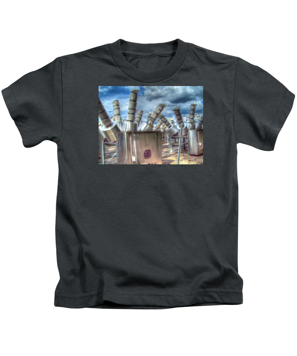 Mj Olsen Kids T-Shirt featuring the photograph Exterminate - Exterminate by MJ Olsen