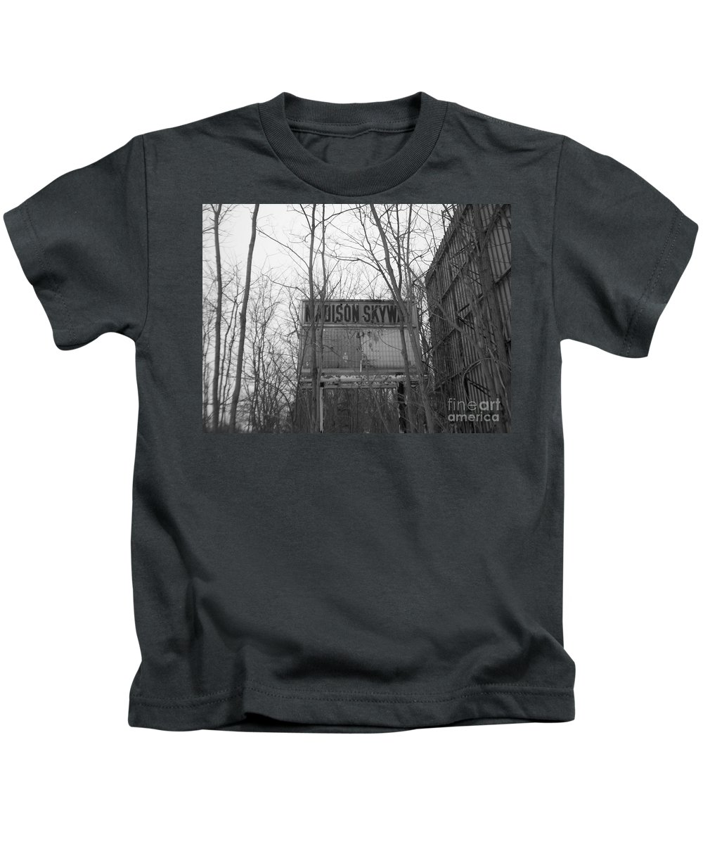 Drive In Kids T-Shirt featuring the photograph Family Night by Michael Krek
