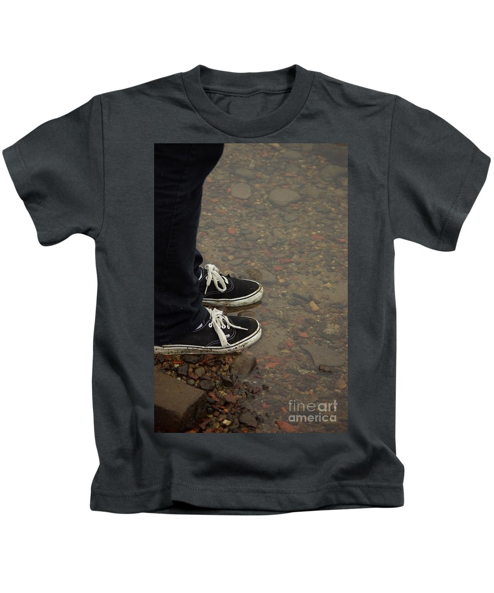 Fashion Kids T-Shirt featuring the photograph Fashion Meets Nature by Cindy Johnston