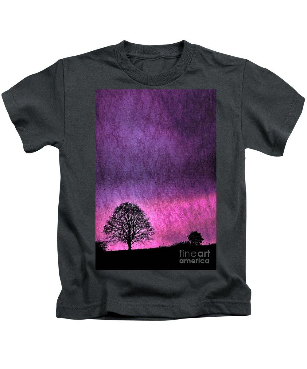 Nature Kids T-Shirt featuring the photograph Fifty Feet Up by Brian Raggatt