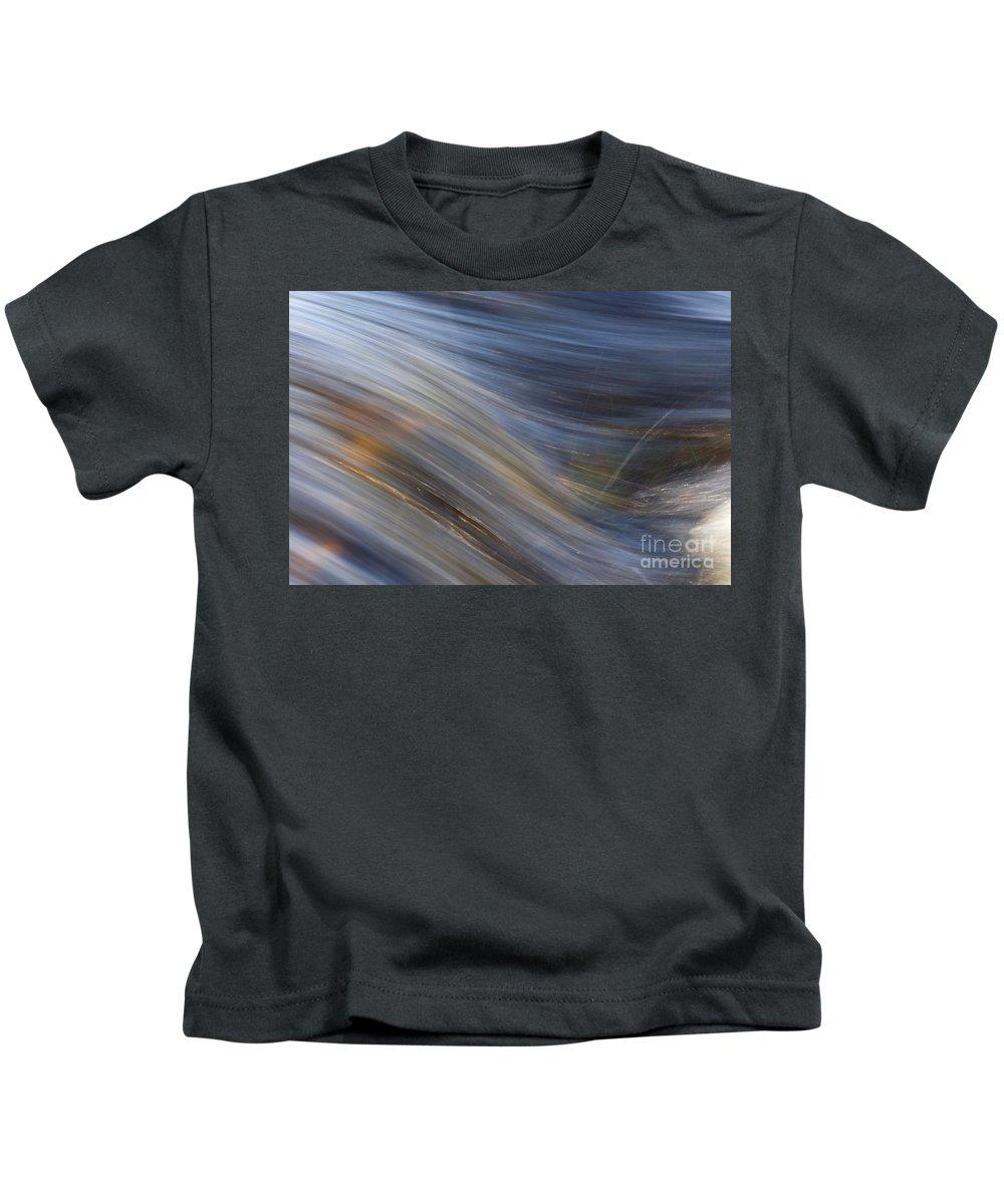 Heiko Kids T-Shirt featuring the photograph Floating River Vikakoengaes by Heiko Koehrer-Wagner