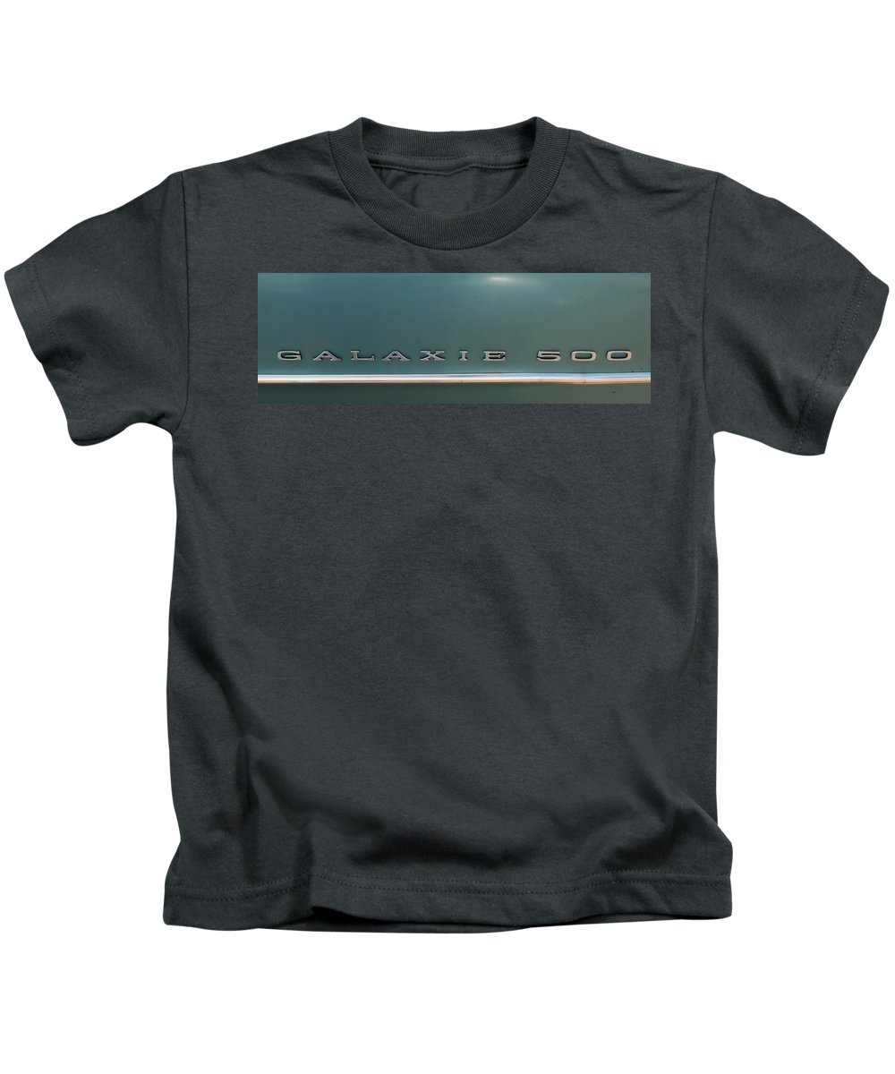 Photo Frames Kids T-Shirt featuring the photograph Ford Galaxie 500 by CE Haynes