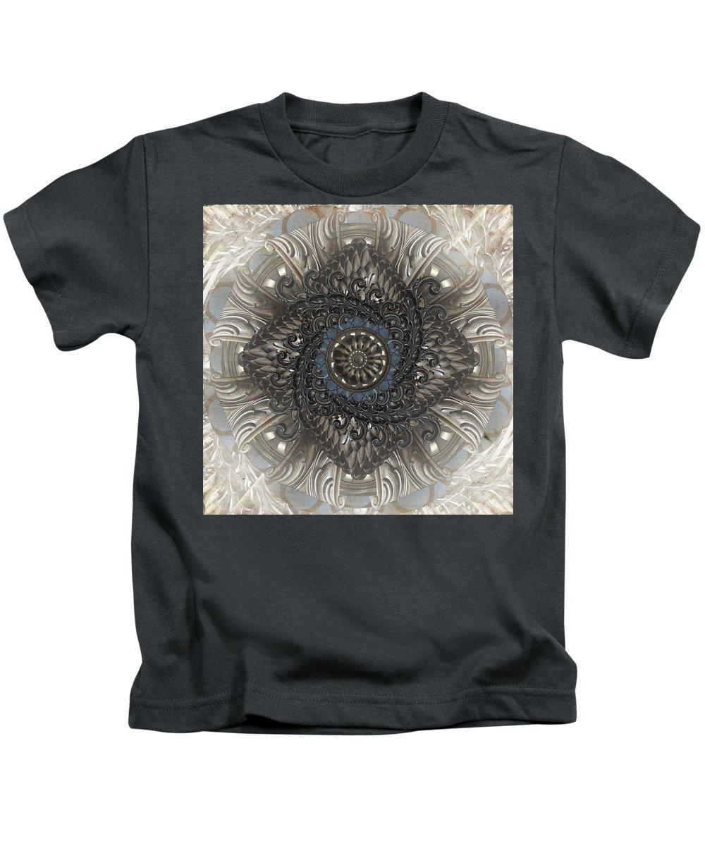 Found Kids T-Shirt featuring the digital art Found by April Moen