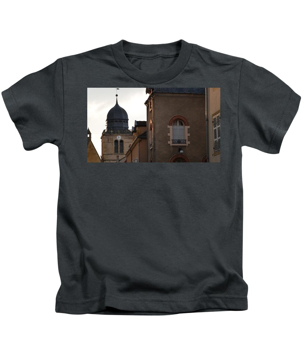 French Kids T-Shirt featuring the photograph French Living by Cheryl Miller