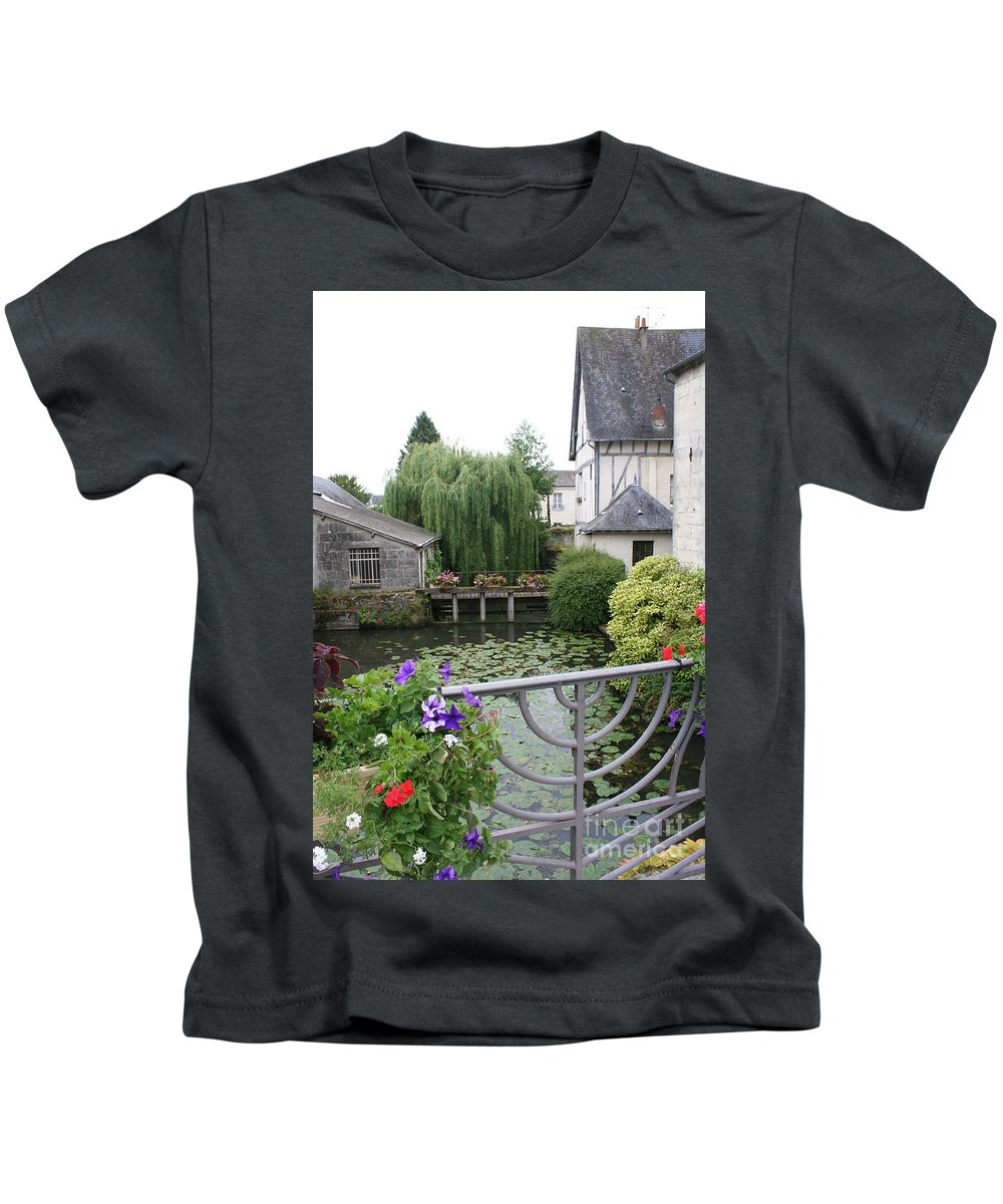 Village Kids T-Shirt featuring the photograph French Village by Christiane Schulze Art And Photography