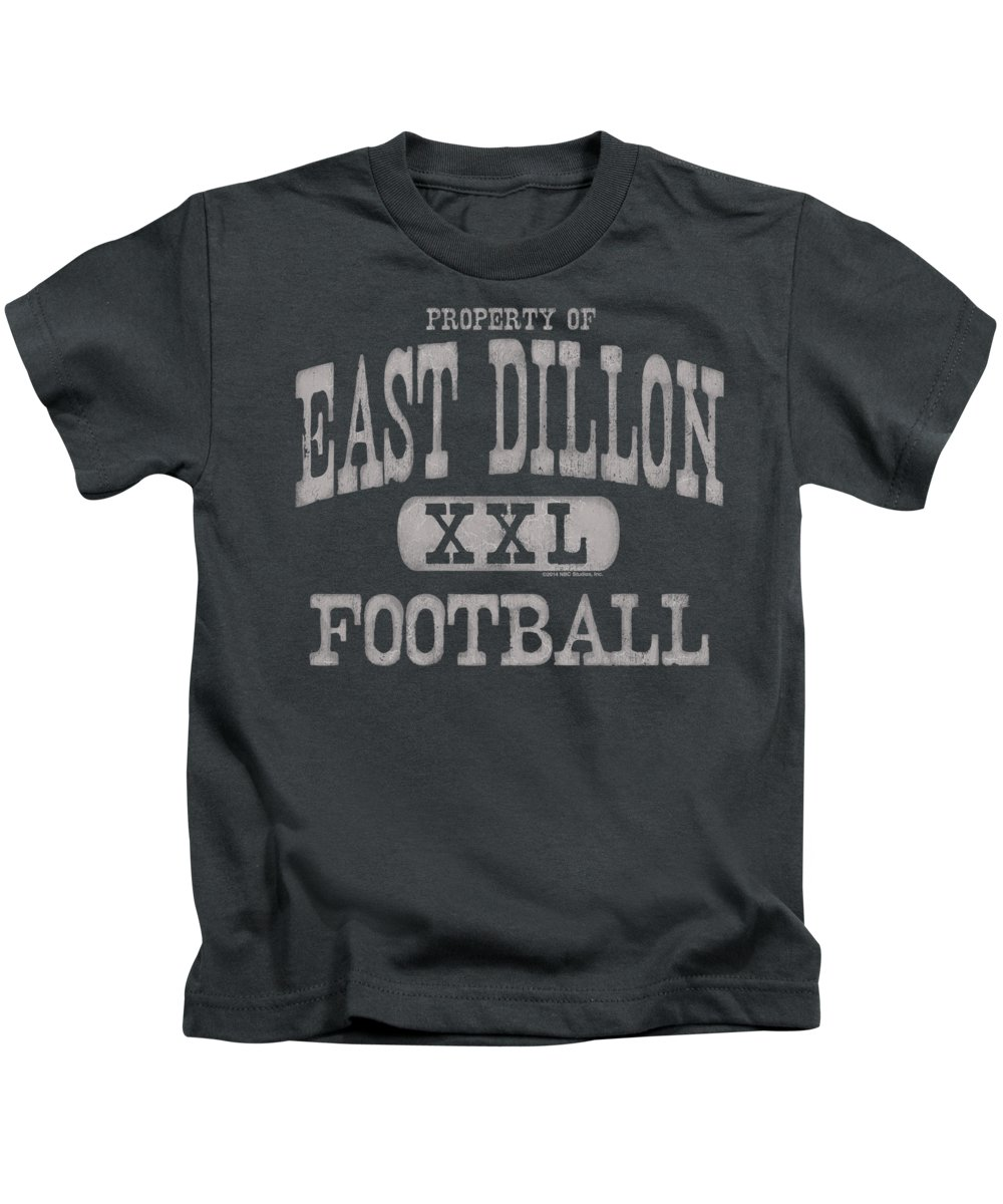 Kids T-Shirt featuring the digital art Friday Night Lights - Property Of by Brand A