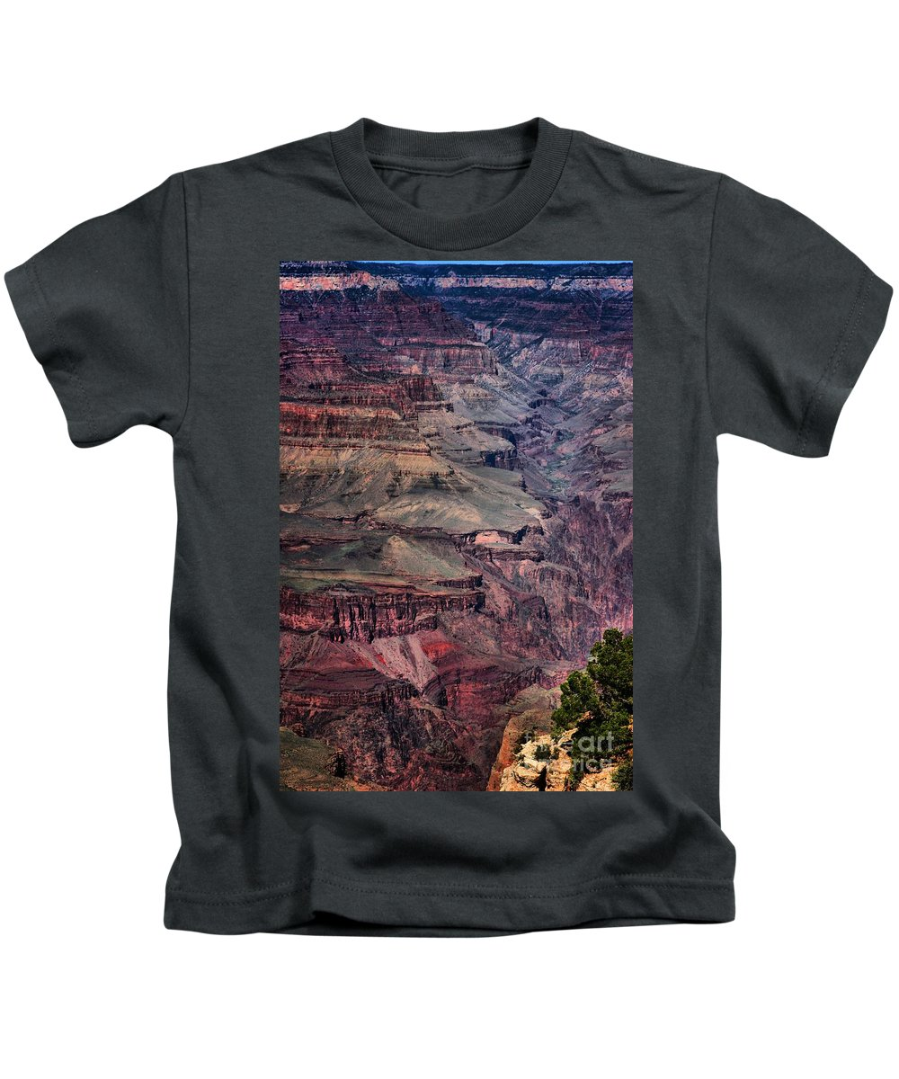 Grand Canyon Kids T-Shirt featuring the photograph Grand Canyon 7 by Robert McCubbin