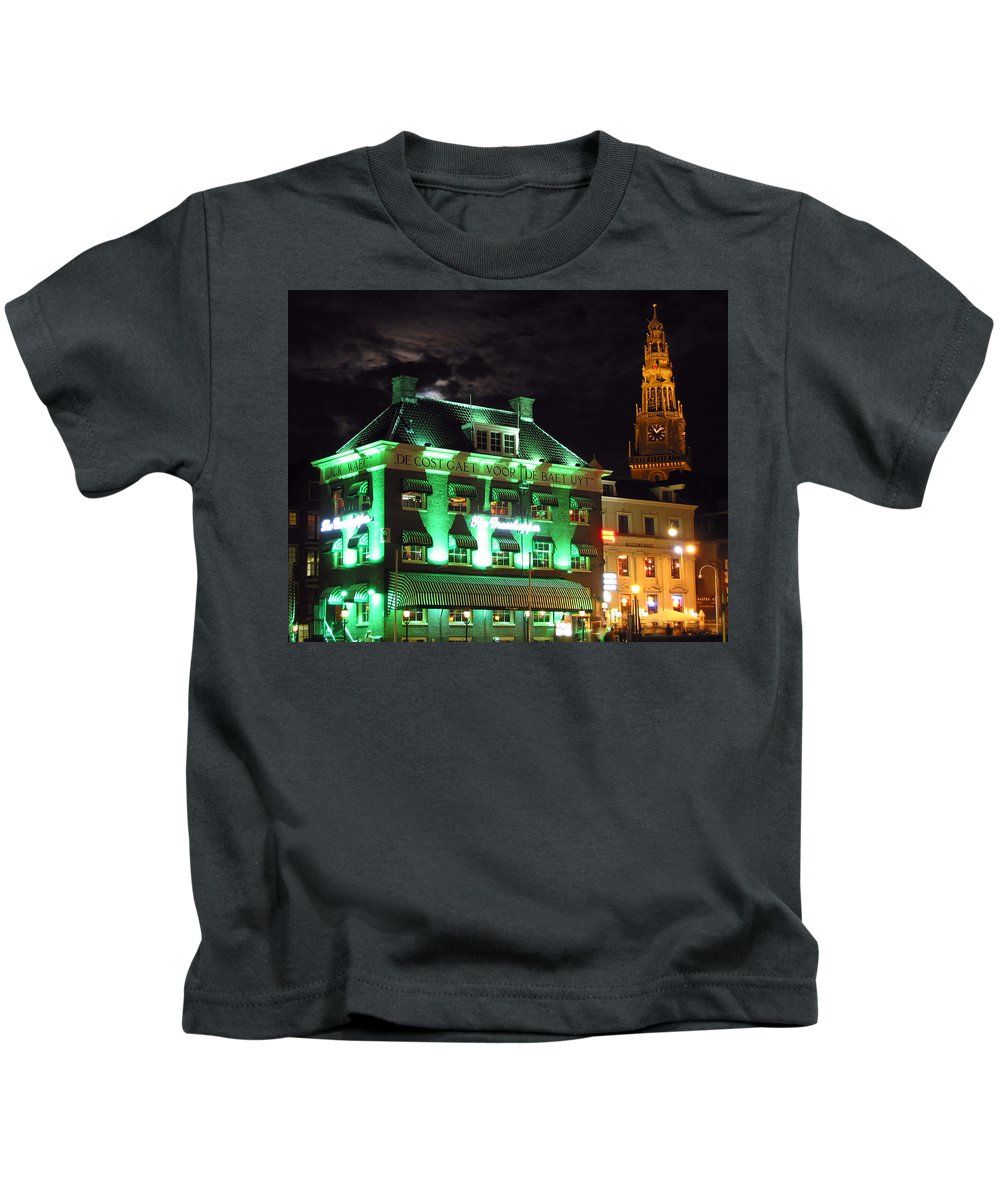 3scape Kids T-Shirt featuring the photograph Grasshopper Bar by Adam Romanowicz