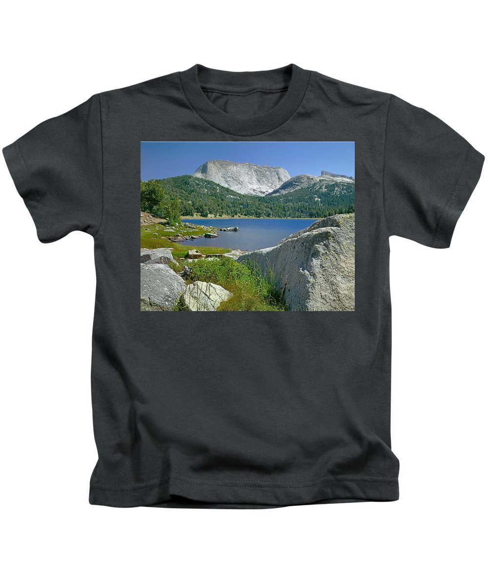 Haystack Mountain Kids T-Shirt featuring the photograph Haystack Mountain by Ed Cooper Photography
