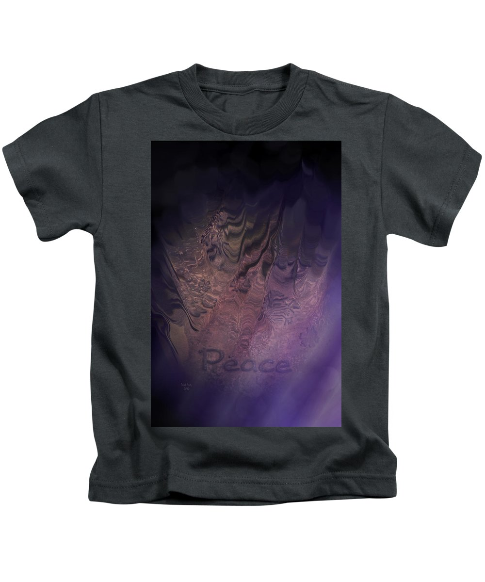 Peace Kids T-Shirt featuring the photograph Heart Of Peace by Trish Tritz