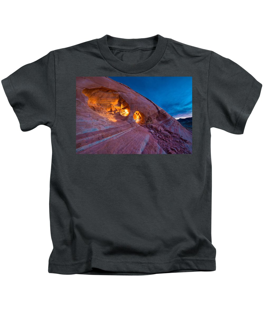 Valley Of Fire Photographs Kids T-Shirts