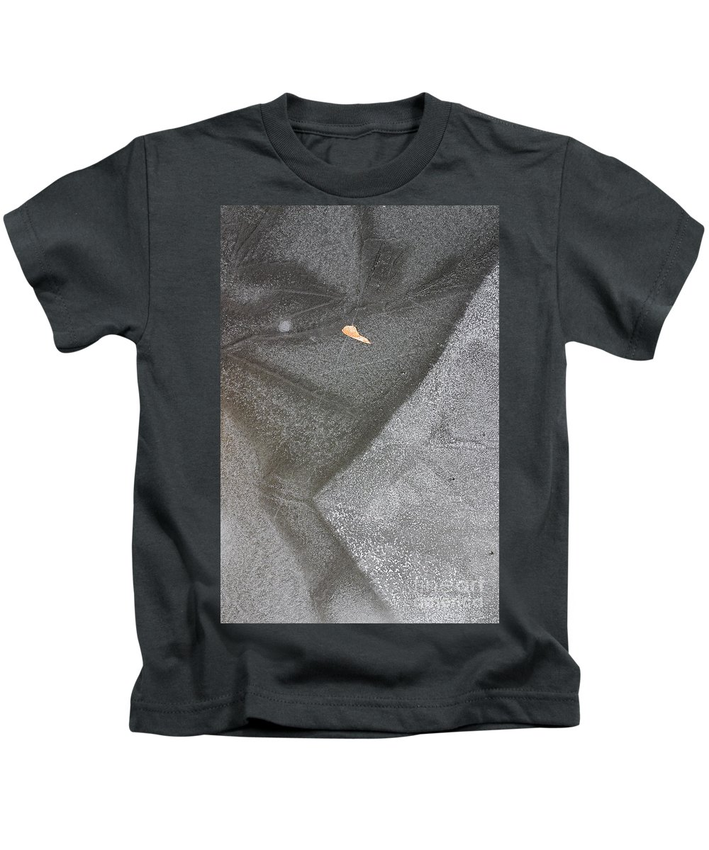 Ice Kids T-Shirt featuring the photograph ice by Steven Ralser