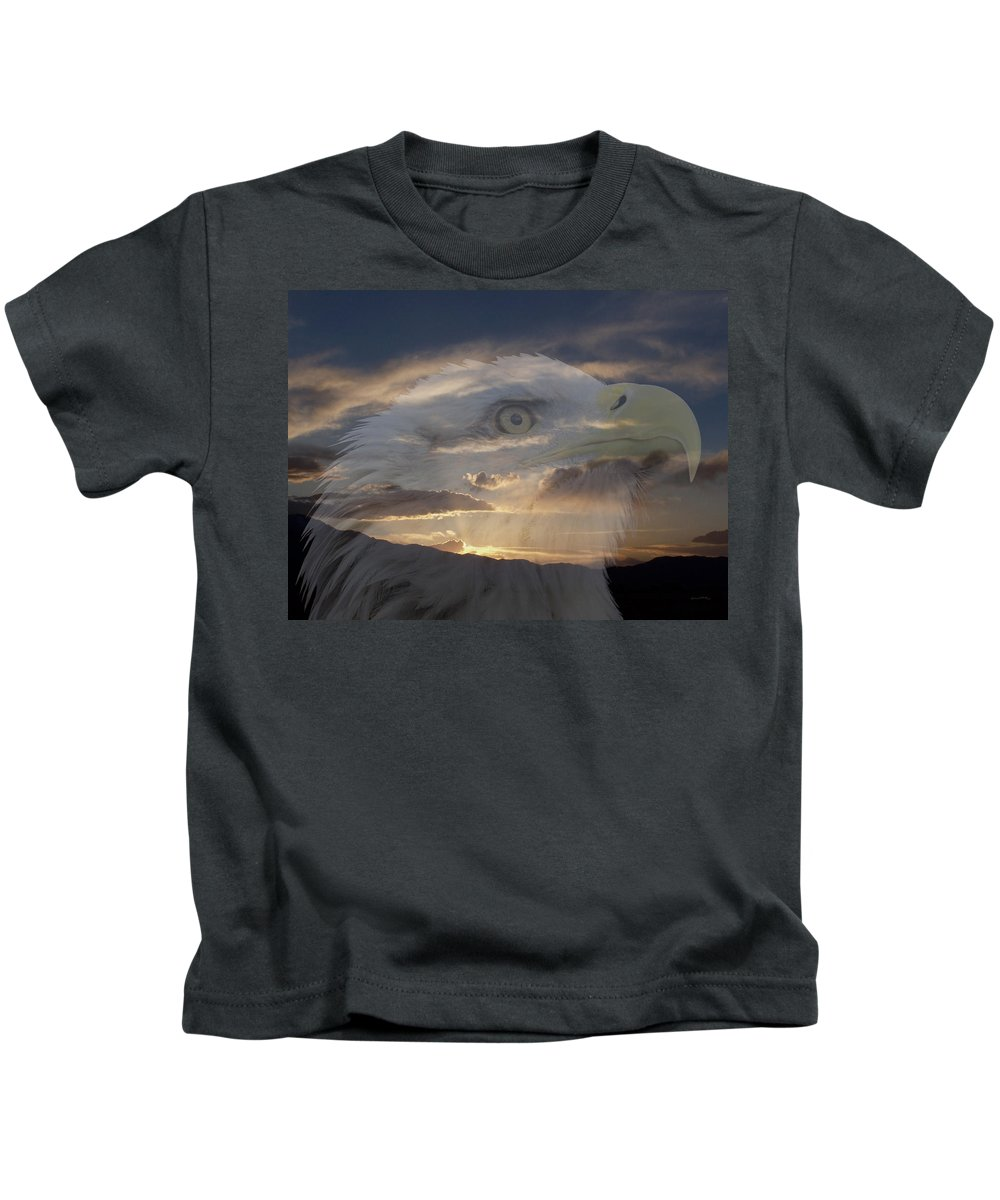 Animals Kids T-Shirt featuring the photograph Imagine by Ernie Echols
