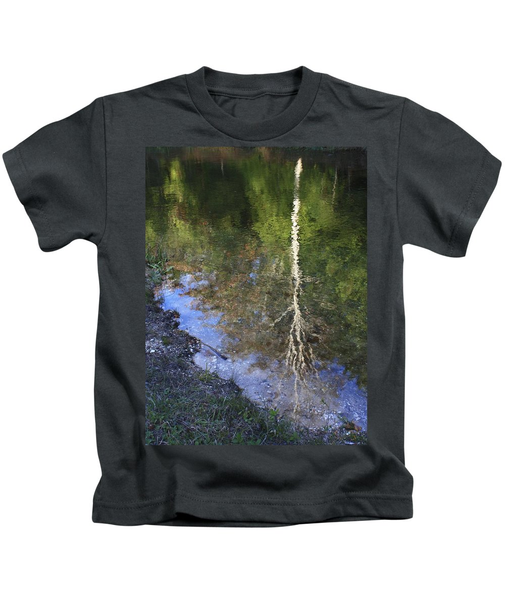 Reflections Kids T-Shirt featuring the photograph Impressionist Reflections by Patrice Zinck