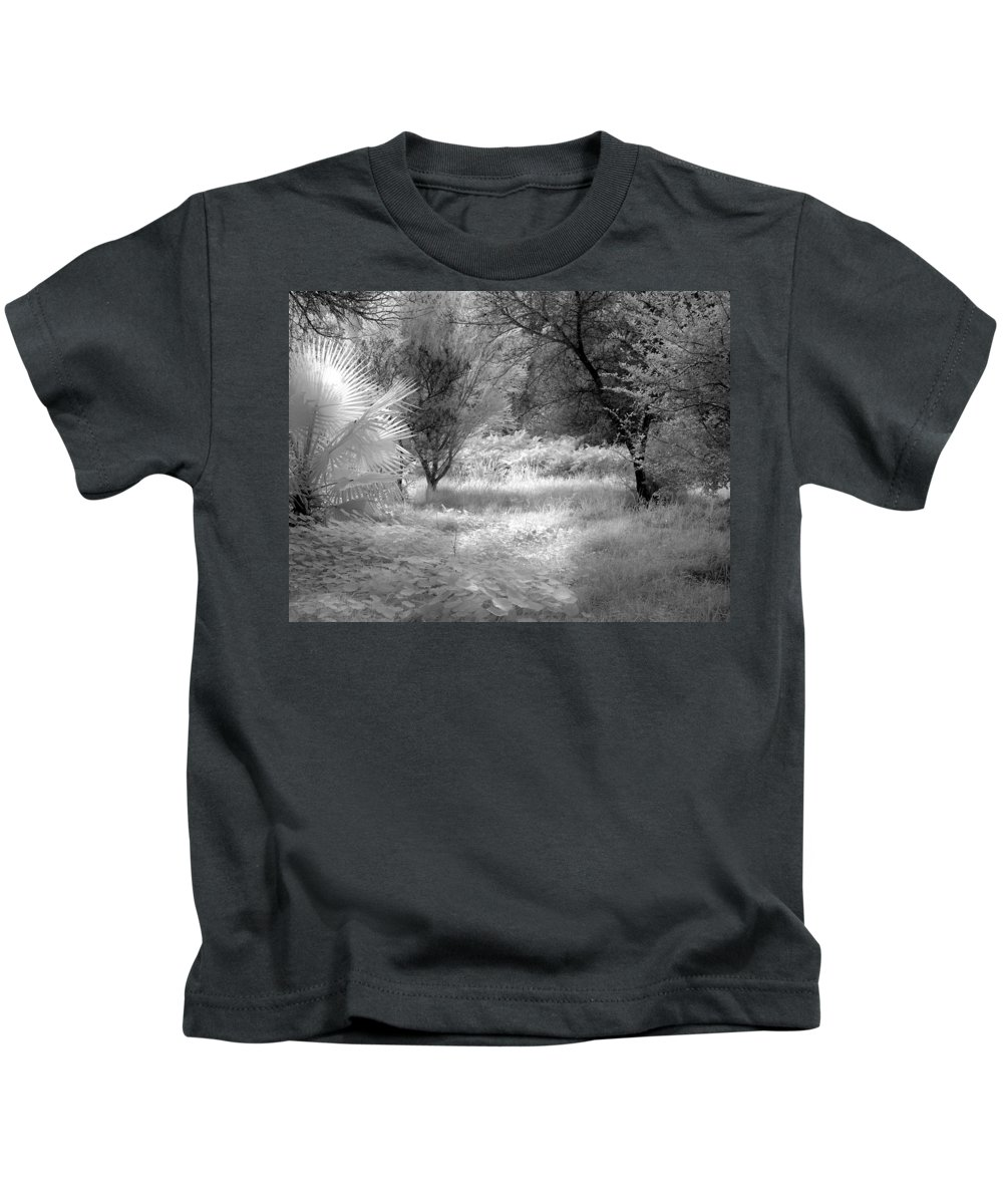 Infrared Kids T-Shirt featuring the photograph Infrared 3 by Mauro Celotti