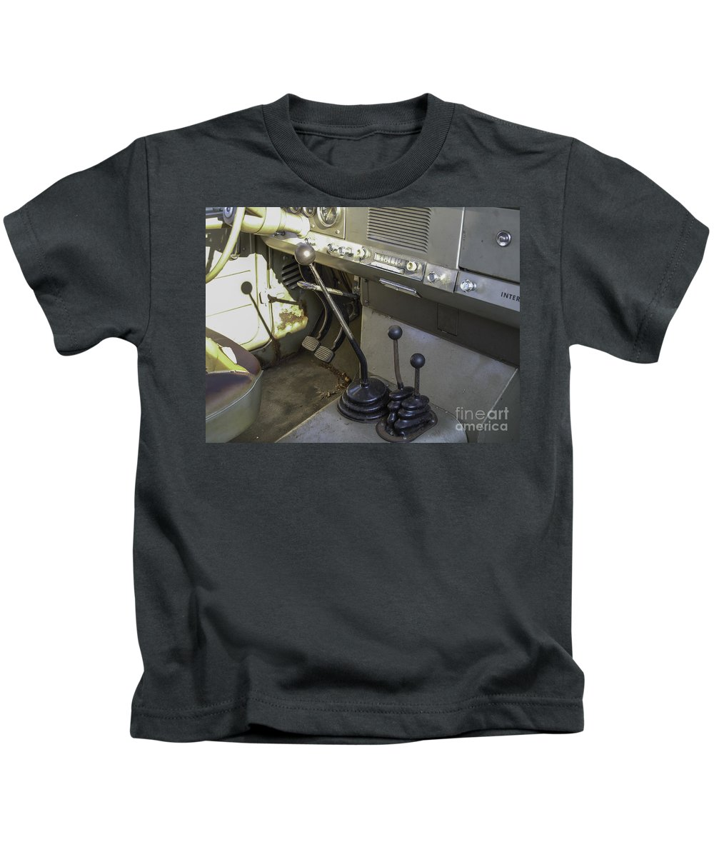 Ih Kids T-Shirt featuring the photograph International Harvester Scout by Dale Powell