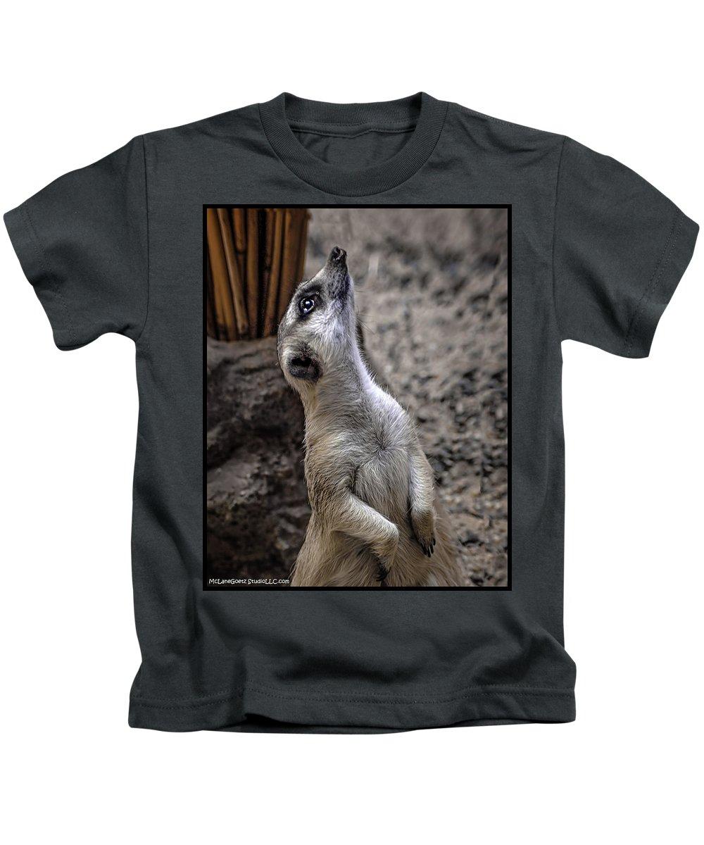Dog Kids T-Shirt featuring the photograph Is It You God by LeeAnn McLaneGoetz McLaneGoetzStudioLLCcom