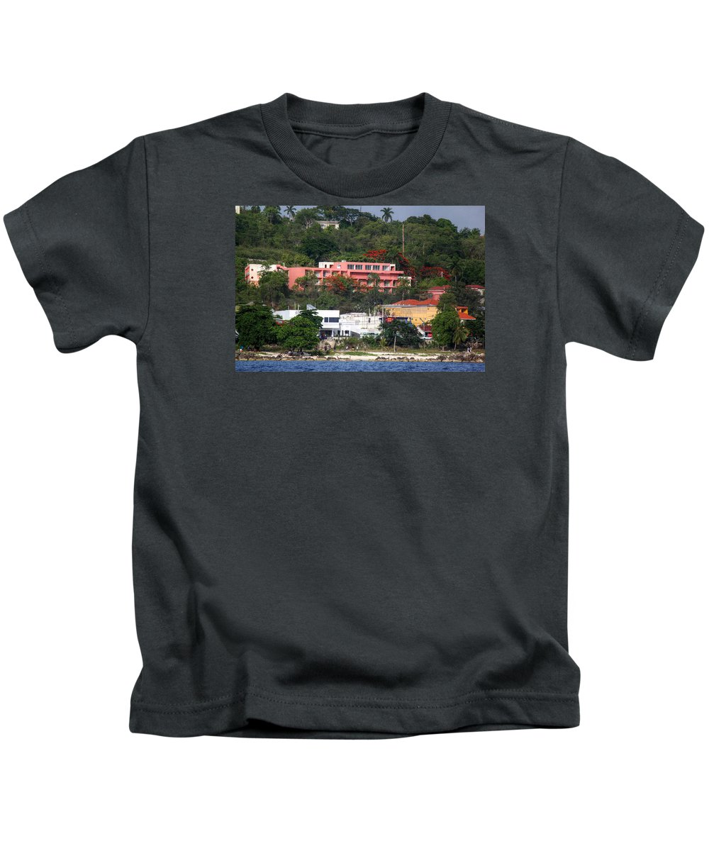 Sunset Kids T-Shirt featuring the photograph Island Colors by Melanie Lankford Photography
