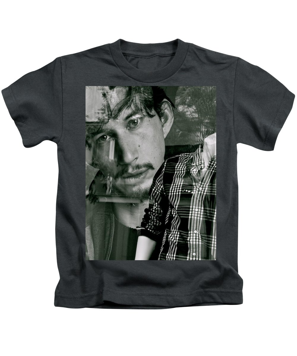 Young Men Kids T-Shirt featuring the photograph It's A Shirt by Ira Shander