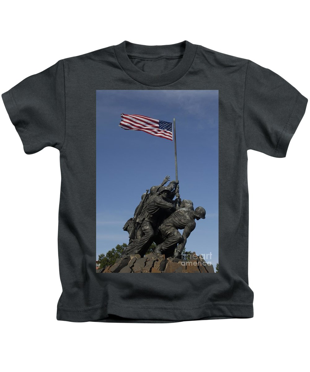 Iwo Kids T-Shirt featuring the photograph Iwo by Paul W Faust - Impressions of Light