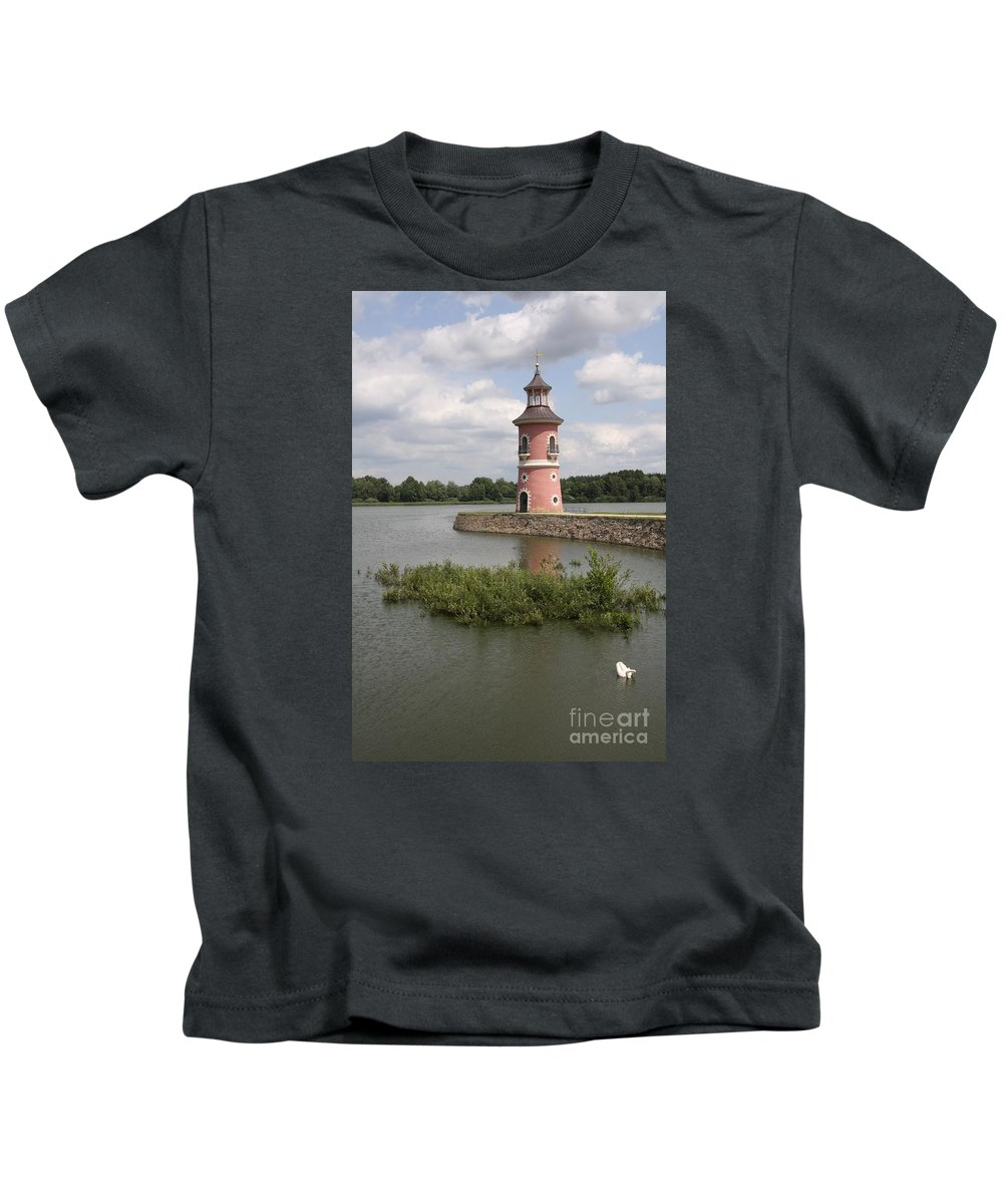 Lighthouse Kids T-Shirt featuring the photograph Just For Fun by Christiane Schulze Art And Photography