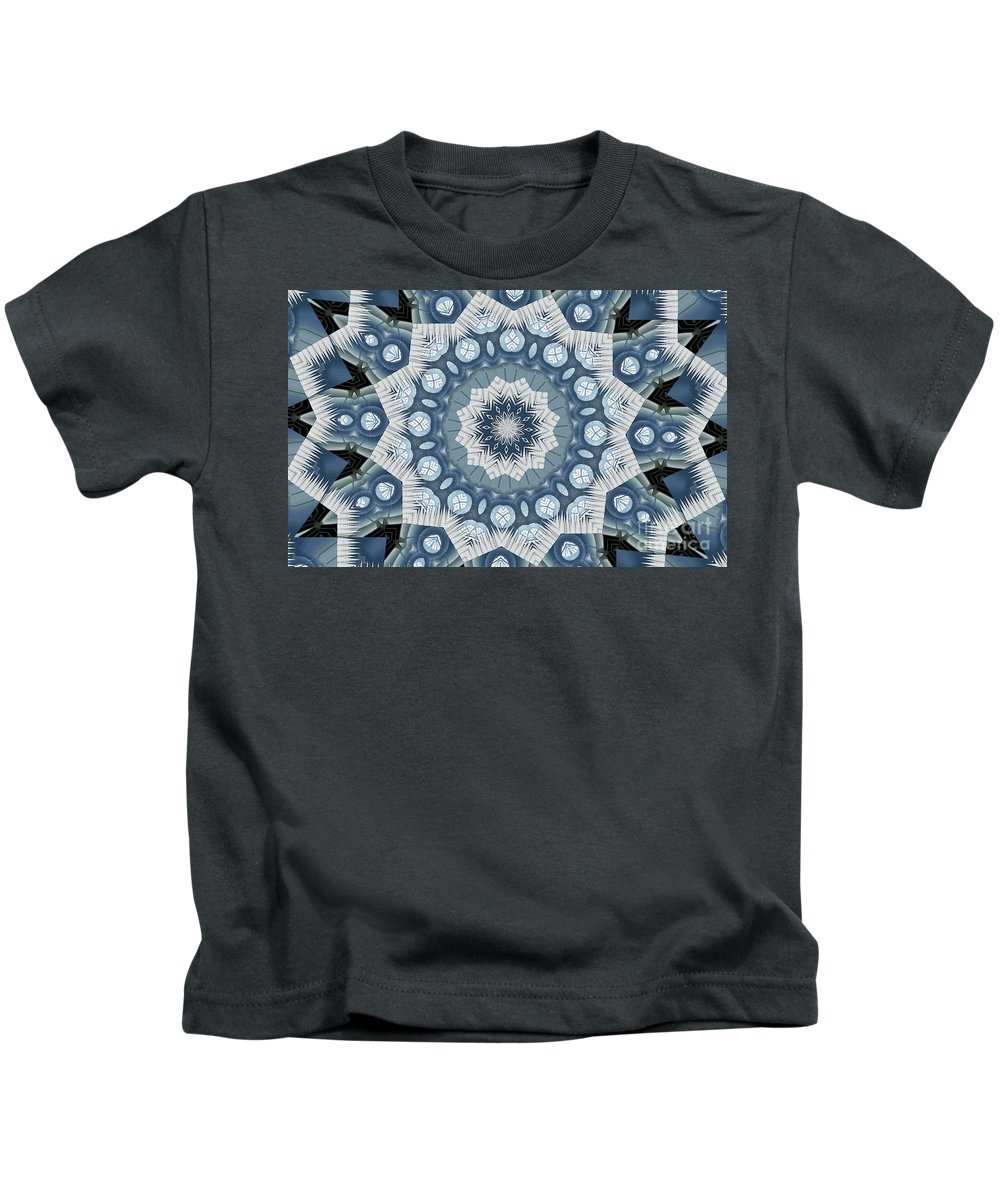 Tombstone Kids T-Shirt featuring the digital art Kaleidoscope 26 by Ron Bissett