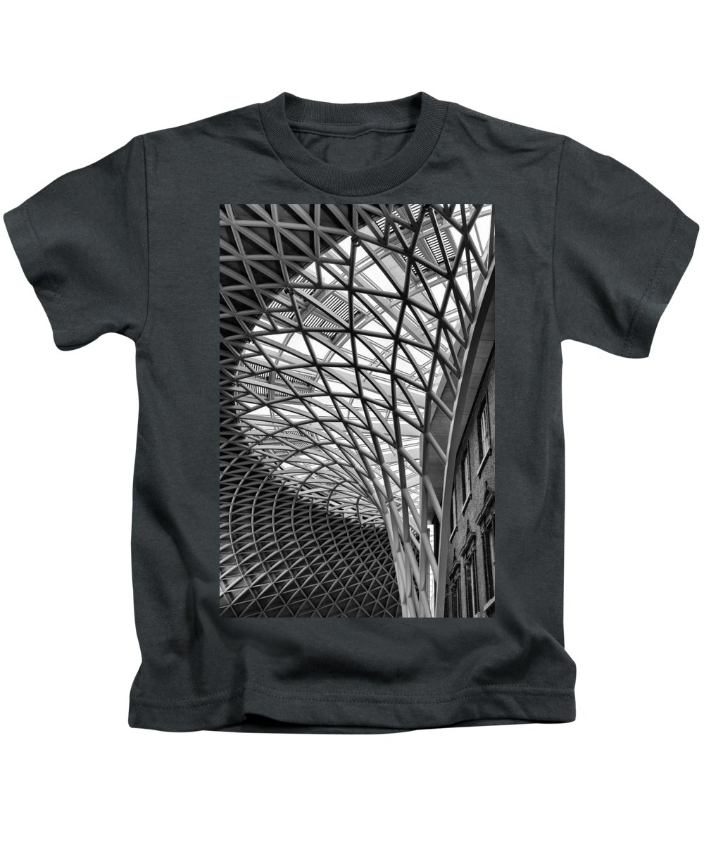 Kings Kids T-Shirt featuring the photograph Kings Cross 2 by Nigel R Bell
