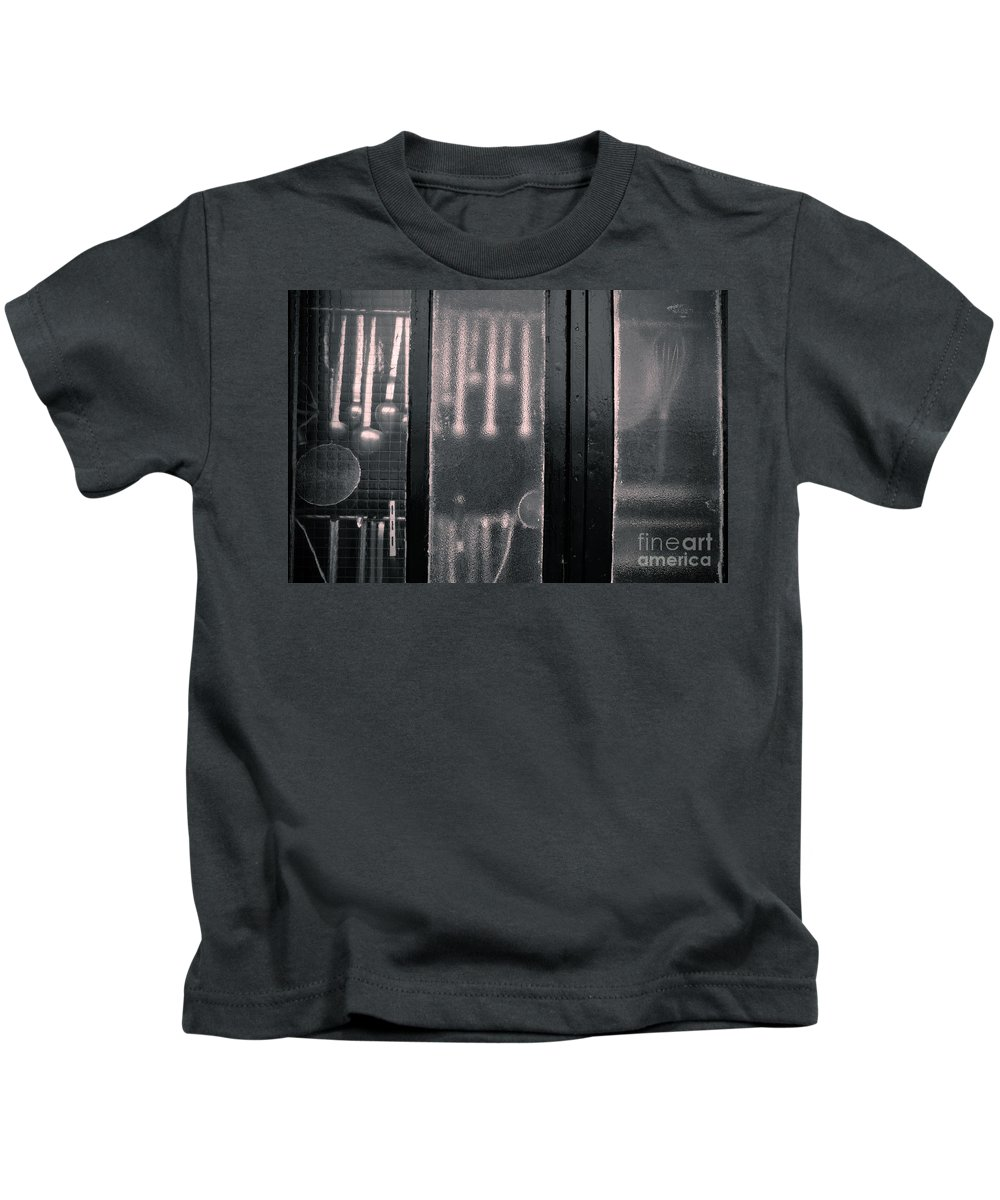 French Kitchen View Kids T-Shirt featuring the photograph Kitchen Window by Brothers Beerens