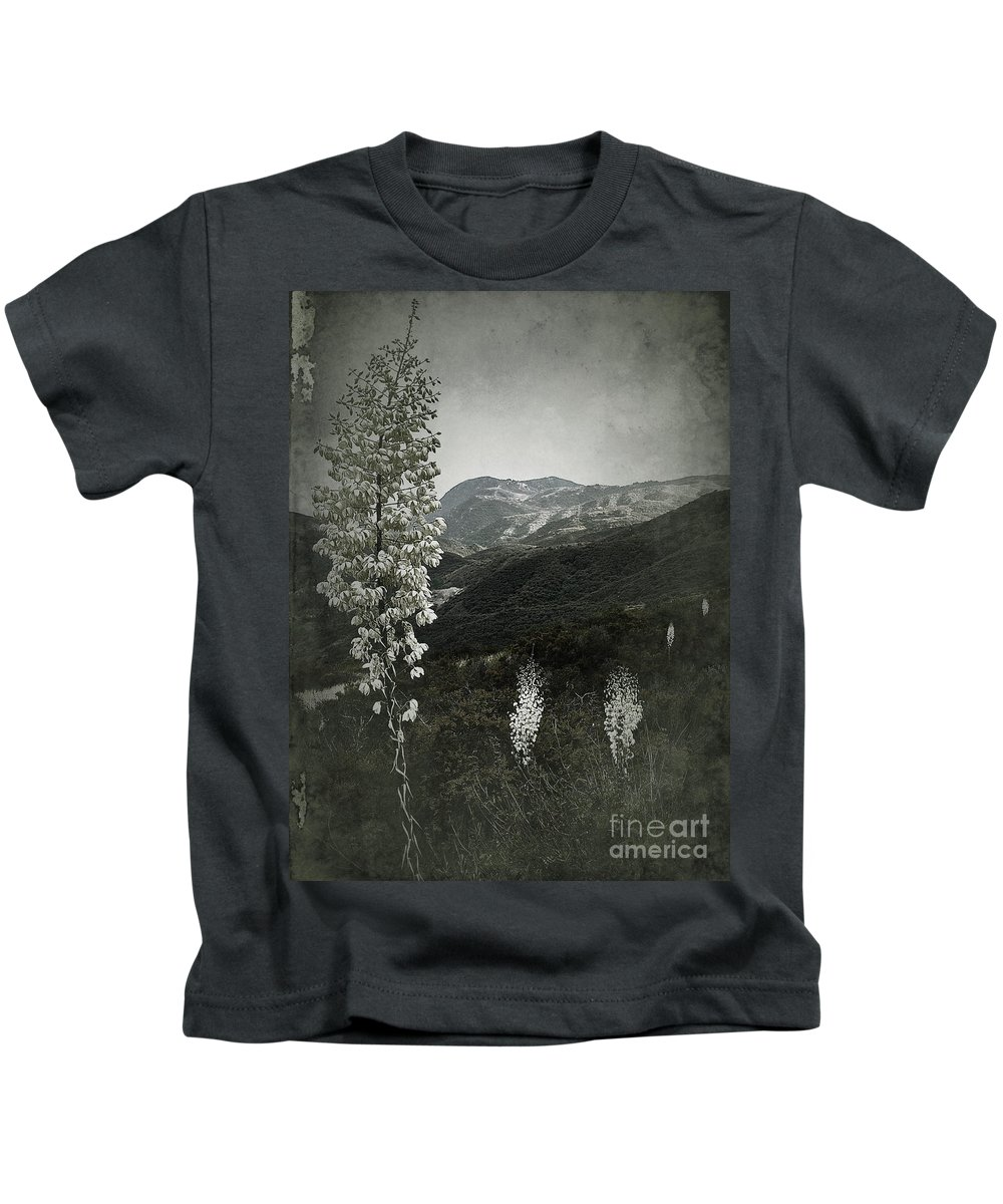 Wildflowers Kids T-Shirt featuring the photograph Lighting The Way by Parrish Todd