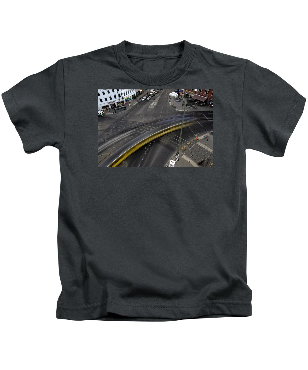 Street Kids T-Shirt featuring the photograph Lines And Strokes by RicardMN Photography