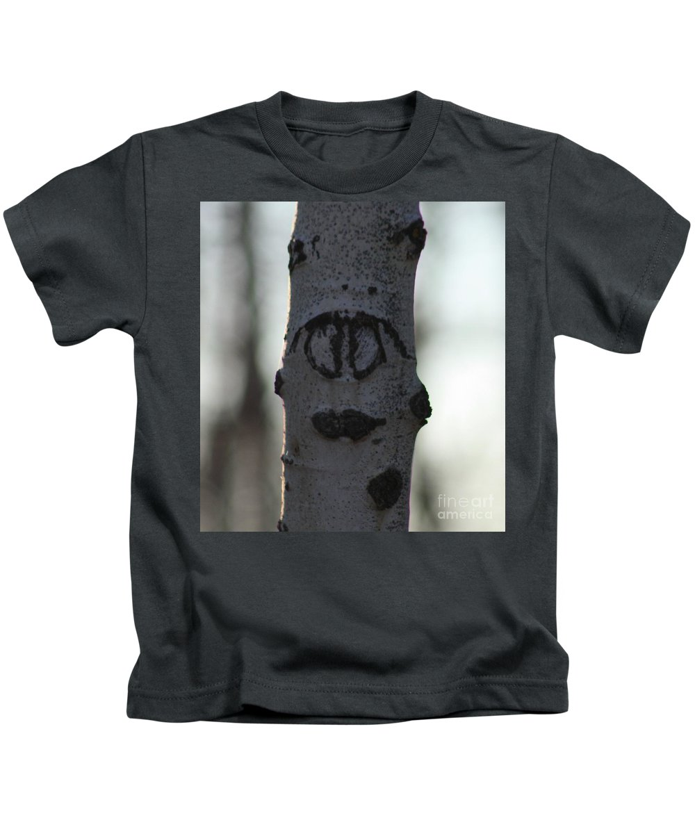 Smiley Faces Kids T-Shirt featuring the photograph Lips by Brandi Maher