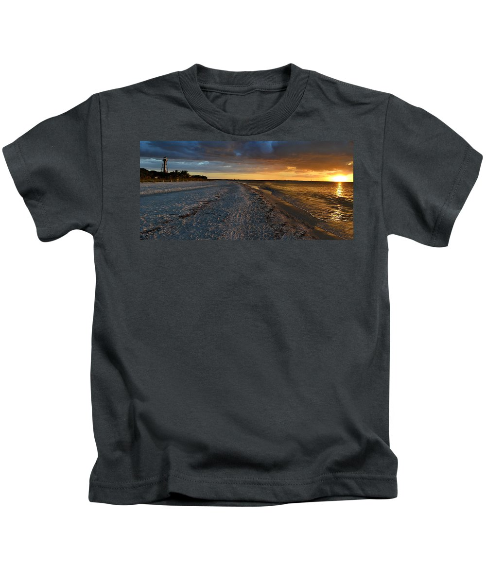 Sunrise Kids T-Shirt featuring the photograph Listen To The Whispers Of Nature by Melanie Moraga