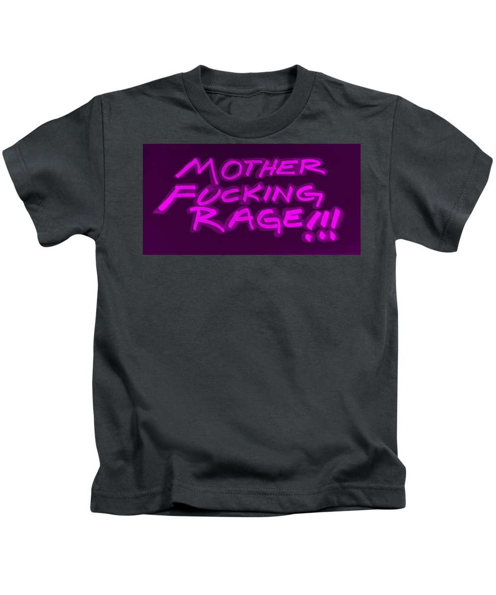 Fuck Kids T-Shirt featuring the photograph M F R Purple by Rob Hans
