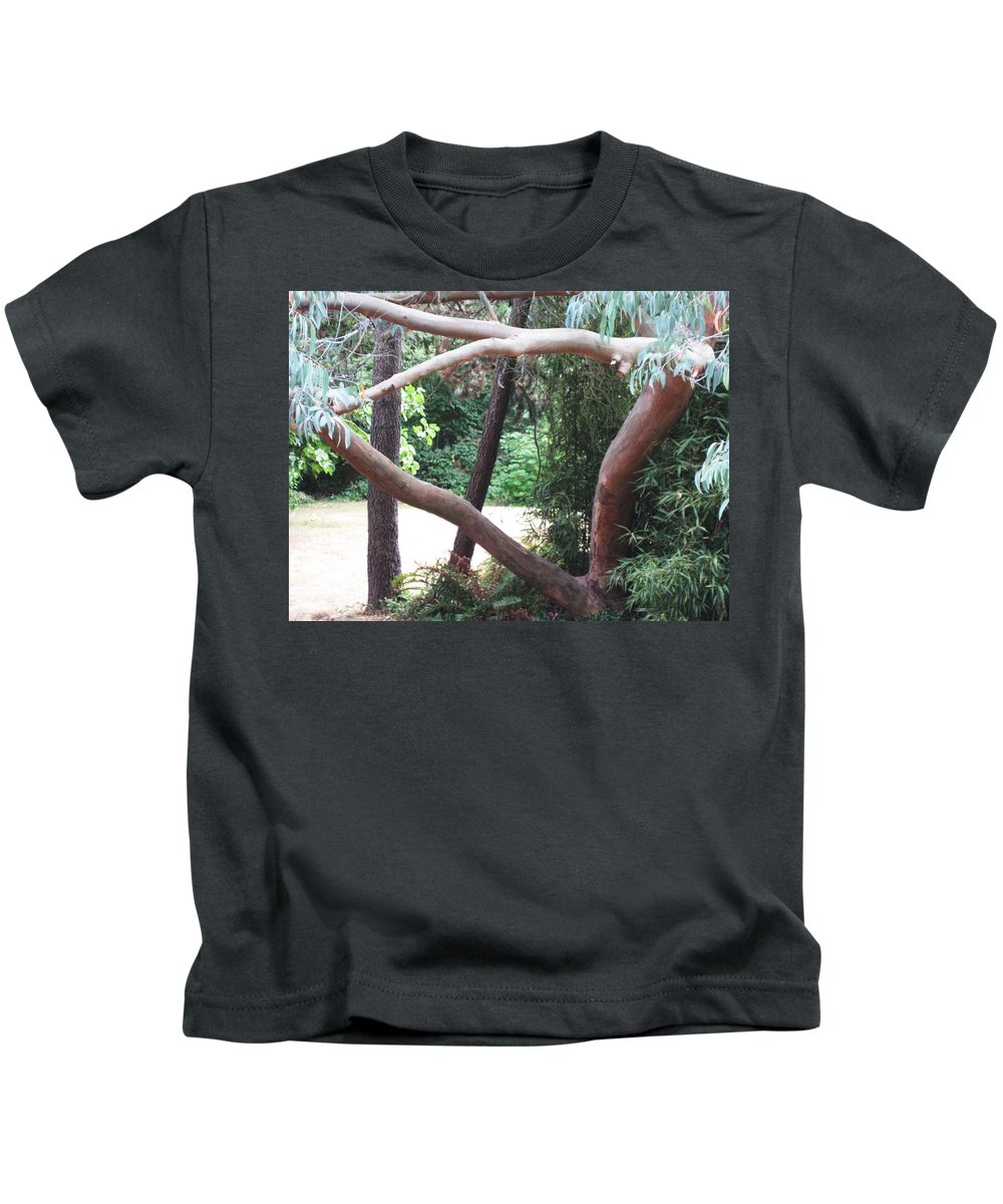 Madrona Kids T-Shirt featuring the photograph Madrona by David Trotter