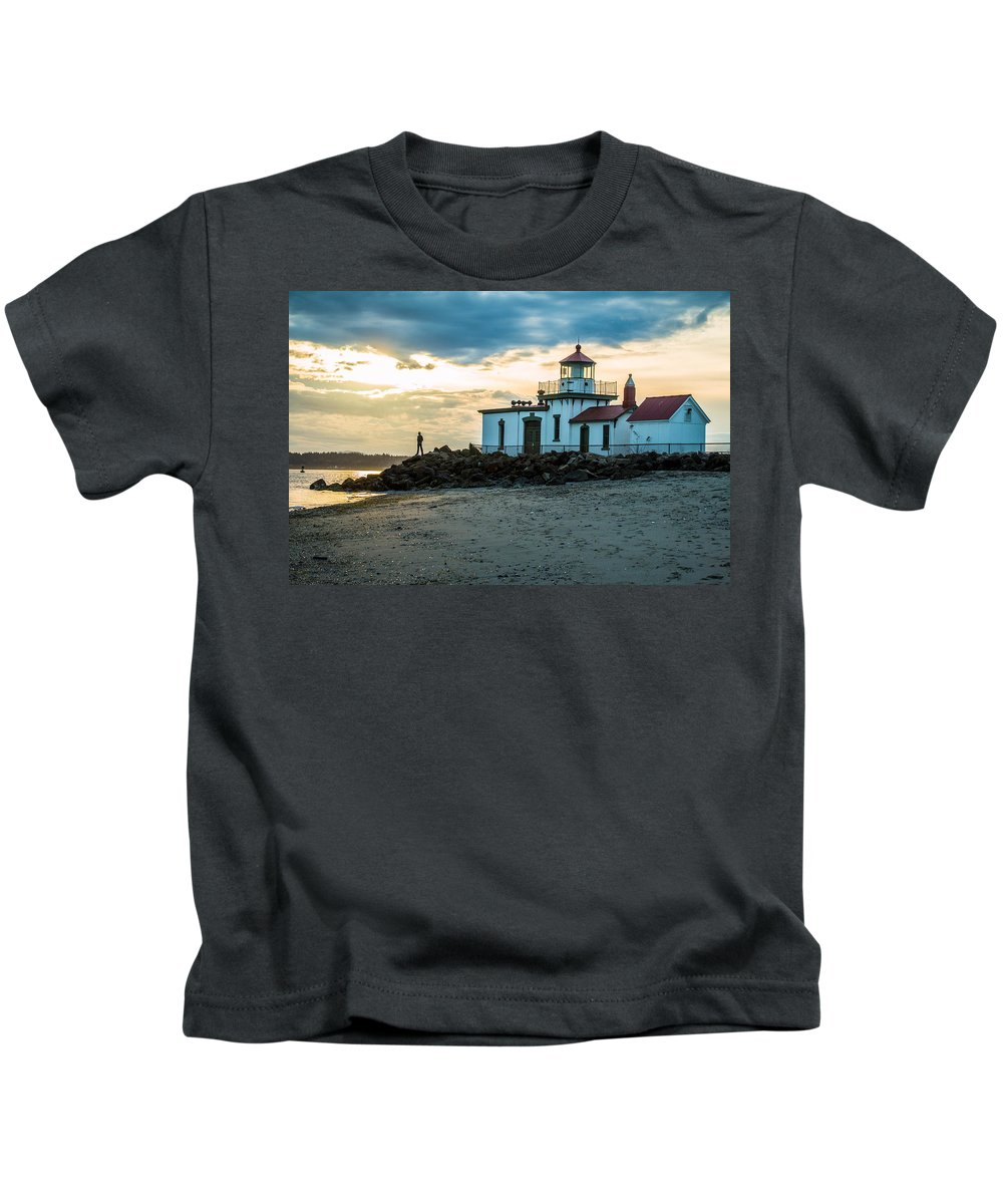 Ocean Kids T-Shirt featuring the photograph Magnolia by Ryan McGinnis