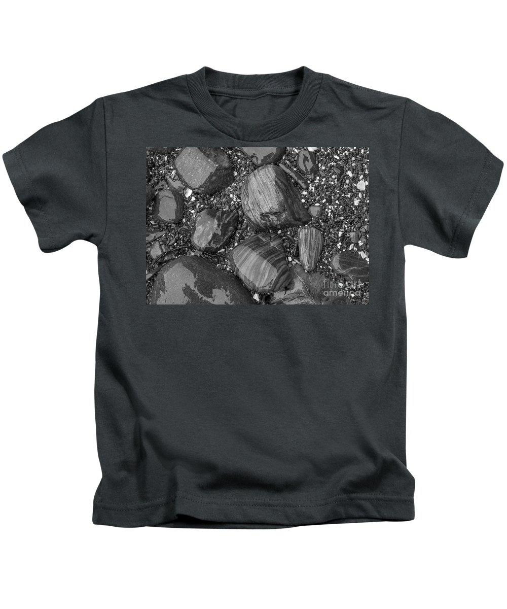 Coast Kids T-Shirt featuring the photograph Maine Stones by Steven Ralser