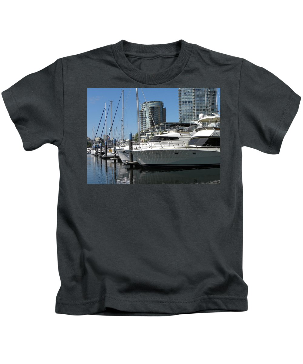 Sail Kids T-Shirt featuring the photograph Martini Time by Brigitte Mueller