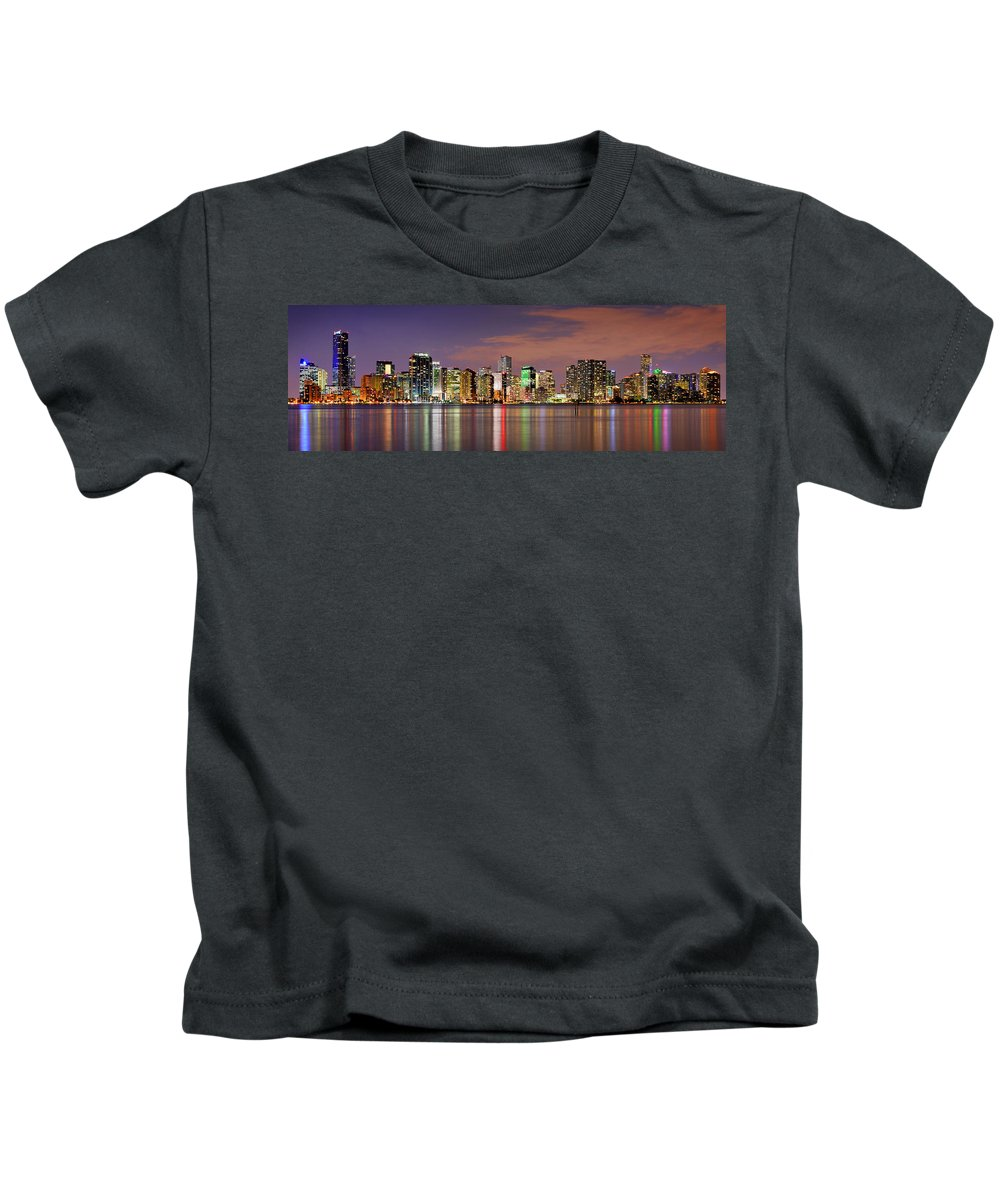 Miami Skyline Kids T-Shirts